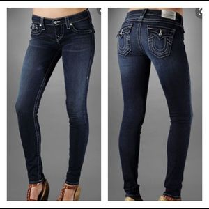 True Religion Glitz & Glam Misty Legging Jeans